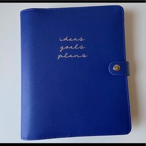 Kikki.k large leather personal planner